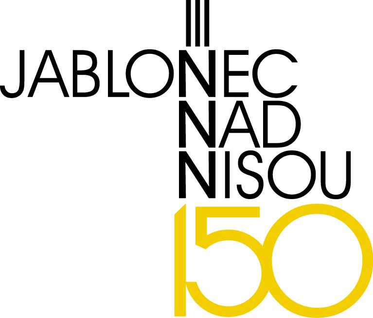 logo Jablonec nad Nisou 150 let 4 RGB